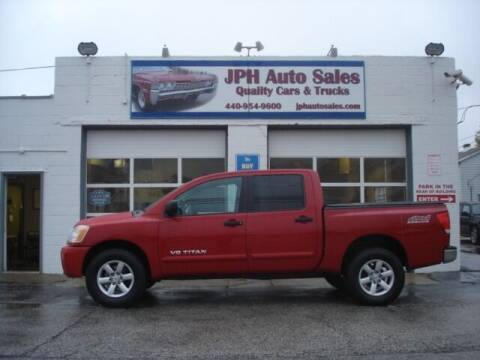 2010 Nissan Titan for sale at JPH Auto Sales in Eastlake OH