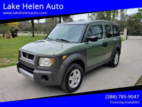 2003 Honda Element for sale at Lake Helen Auto in Lake Helen FL