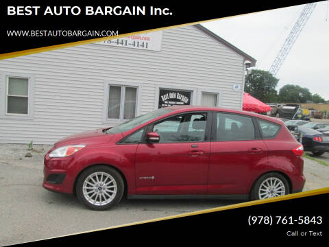 2013 Ford C-MAX Hybrid for sale at BEST AUTO BARGAIN inc. in Lowell MA