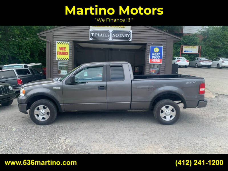 2006 Ford F-150 for sale at Martino Motors in Pittsburgh PA