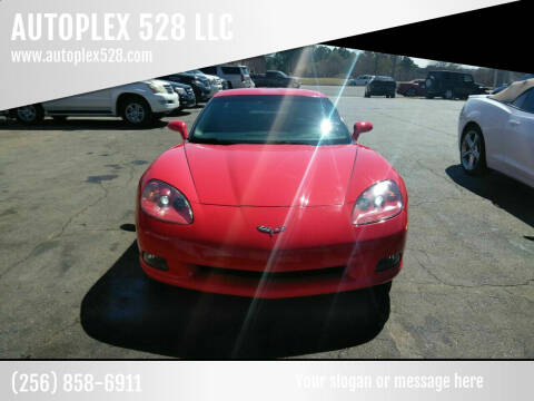 2011 Chevrolet Corvette for sale at AUTOPLEX 528 LLC in Huntsville AL
