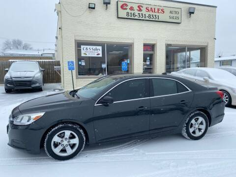 2014 Chevrolet Malibu for sale at C & S SALES in Belton MO