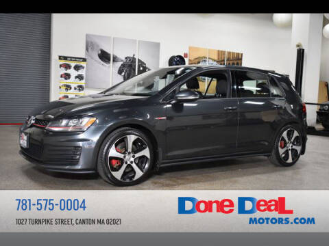 2016 Volkswagen Golf GTI for sale at DONE DEAL MOTORS in Canton MA
