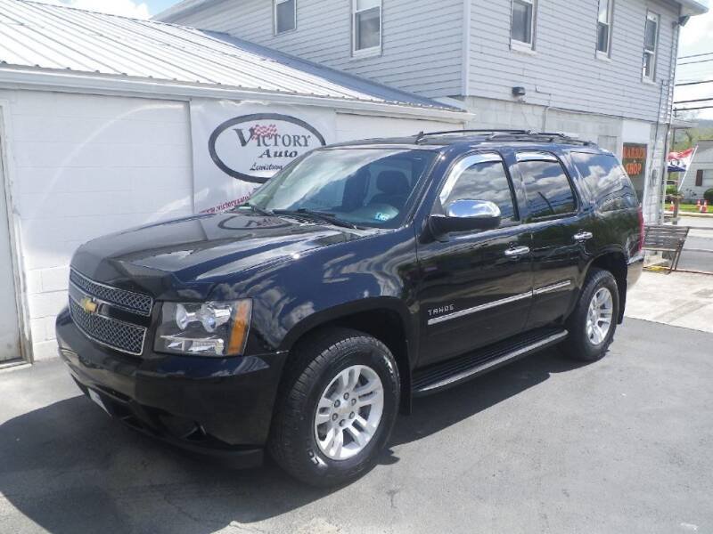 2010 Chevrolet Tahoe for sale at VICTORY AUTO in Lewistown PA