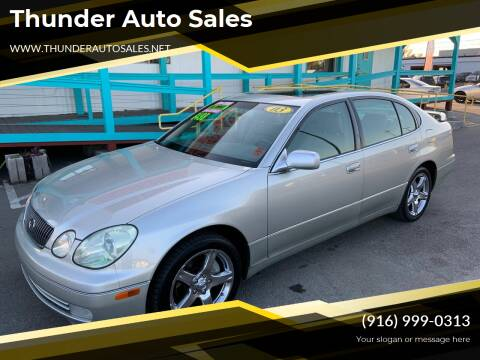 2003 Lexus GS 300 for sale at Thunder Auto Sales in Sacramento CA