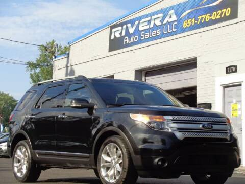 2015 Ford Explorer for sale at Rivera Auto Sales LLC in Saint Paul MN
