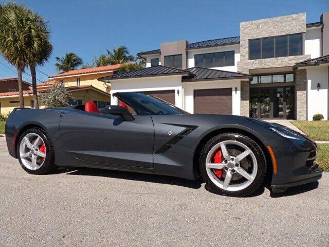 2014 Chevrolet Corvette for sale at Lifetime Automotive Group in Pompano Beach FL