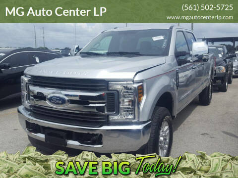 2018 Ford F-250 Super Duty for sale at MG Auto Center LP in Lake Park FL