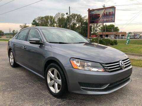2015 Volkswagen Passat for sale at Albi Auto Sales LLC in Louisville KY