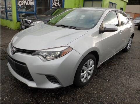 2016 Toyota Corolla for sale at Klean Carz in Seattle WA