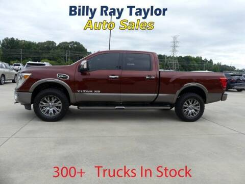2016 Nissan Titan XD for sale at Billy Ray Taylor Auto Sales in Cullman AL