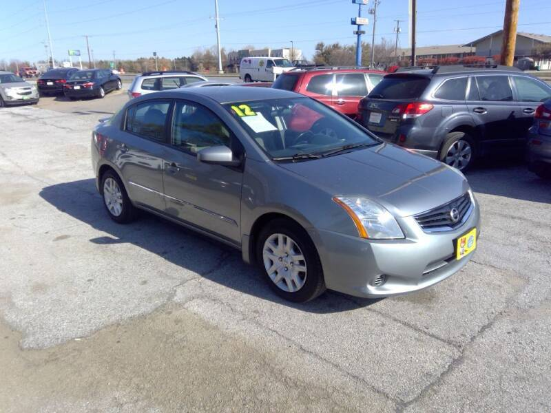 2012 Nissan Sentra for sale at Regency Motors Inc in Davenport IA