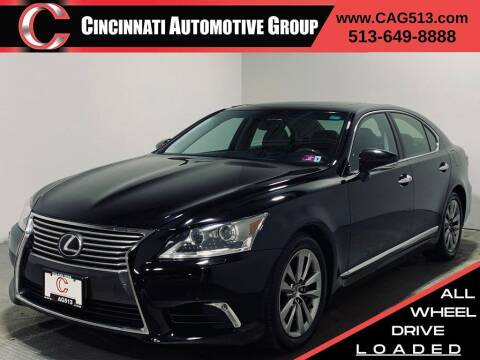 2014 Lexus LS 460 for sale at Cincinnati Automotive Group in Lebanon OH