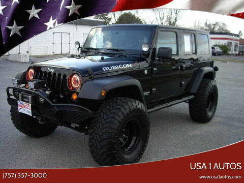 2007 Jeep Wrangler Unlimited for sale at USA 1 Autos in Smithfield VA
