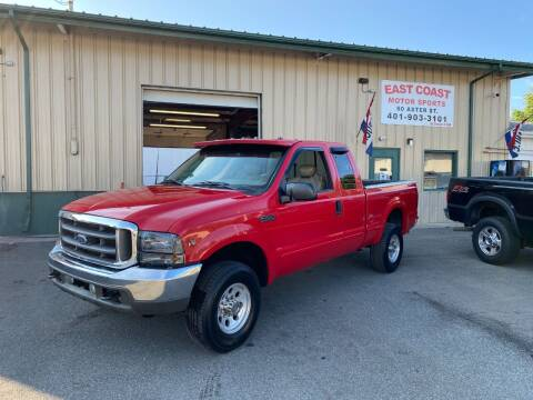 2003 Ford F-250 Super Duty for sale at East Coast Motor Sports in West Warwick RI