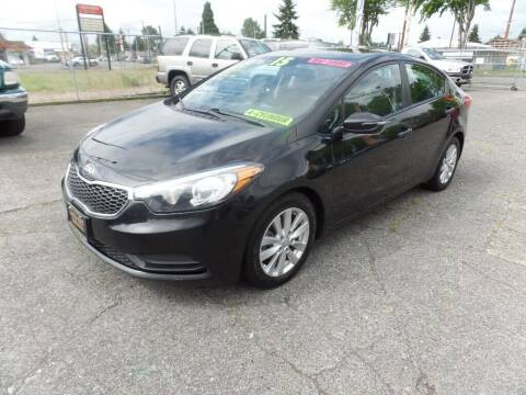 2015 Kia Forte for sale at Gold Key Motors in Centralia WA