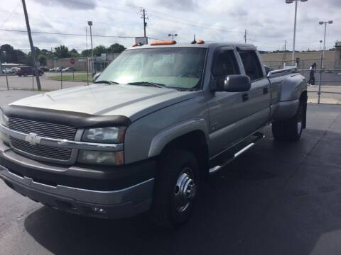 2003 Chevrolet Silverado 3500 for sale at Classic Connections in Greenville NC