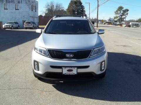 2014 Kia Sorento for sale at Gilliam Motors Inc in Dillwyn VA