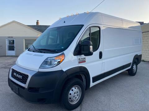 2019 RAM ProMaster Cargo for sale at RABIDEAU'S AUTO MART in Green Bay WI