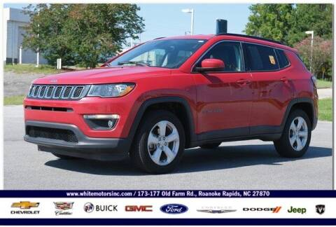 2018 Jeep Compass for sale at WHITE MOTORS INC in Roanoke Rapids NC