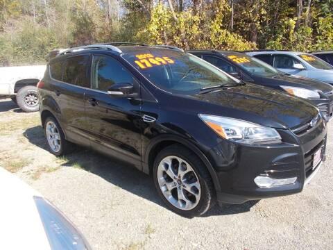 2013 Ford Escape for sale at Dansville Radiator in Dansville NY