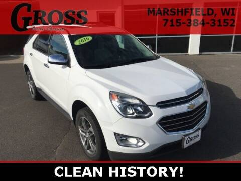 2016 Chevrolet Equinox for sale at Gross Motors of Marshfield in Marshfield WI