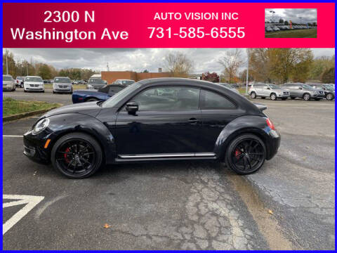 2013 Volkswagen Beetle for sale at Auto Vision Inc. in Brownsville TN