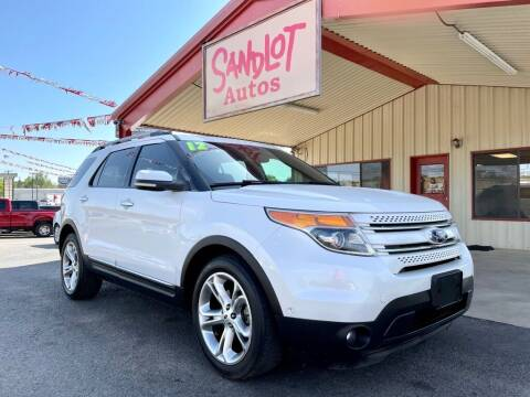 2012 Ford Explorer for sale at Sandlot Autos in Tyler TX