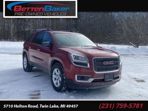 2014 GMC Acadia for sale at Betten Baker Preowned Center in Twin Lake MI