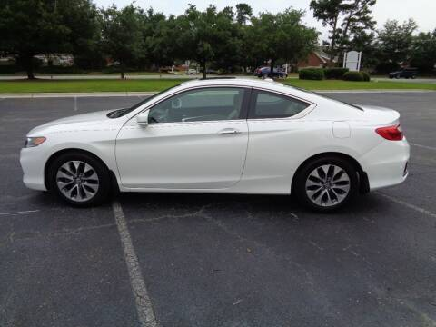 2014 Honda Accord for sale at BALKCUM AUTO INC in Wilmington NC