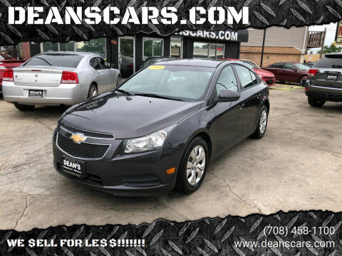 2014 Chevrolet Cruze for sale at DEANSCARS.COM in Bridgeview IL