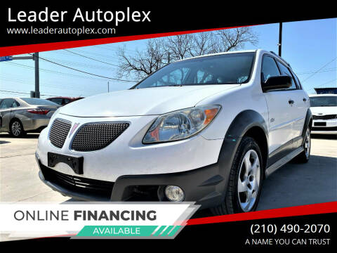 2007 Pontiac Vibe for sale at Leader Autoplex in San Antonio TX