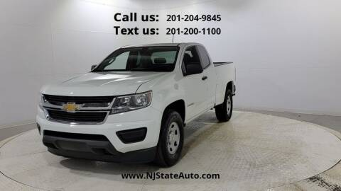 2016 Chevrolet Colorado for sale at NJ State Auto Used Cars in Jersey City NJ