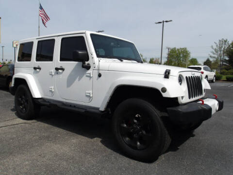 2014 Jeep Wrangler Unlimited for sale at TAPP MOTORS INC in Owensboro KY