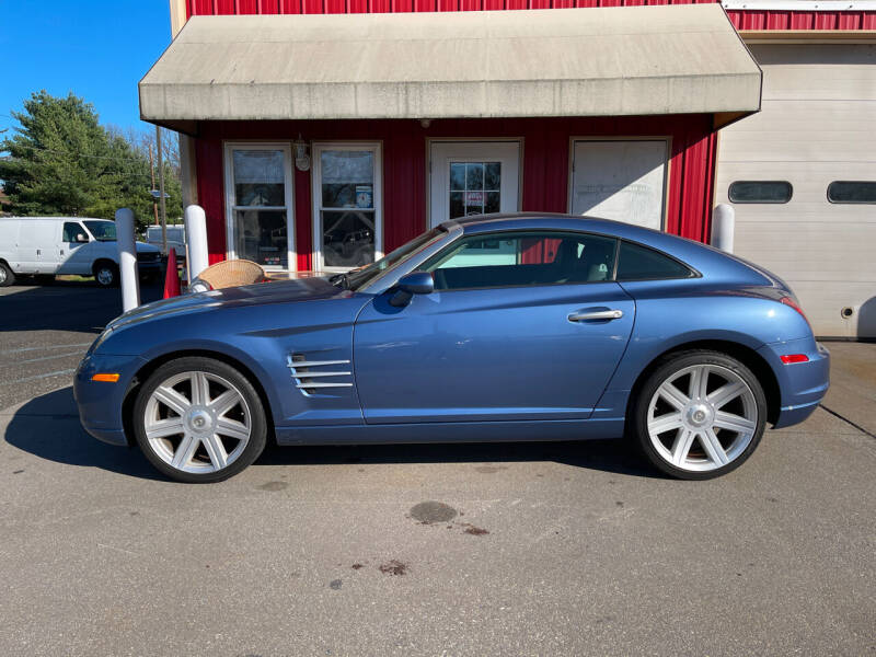 2005 Chrysler Crossfire for sale at JWP Auto Sales,LLC in Maple Shade NJ