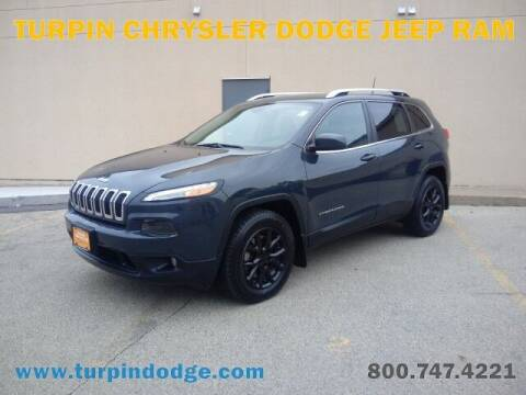 2018 Jeep Cherokee for sale at Turpin Dodge Chrysler Jeep Ram in Dubuque IA