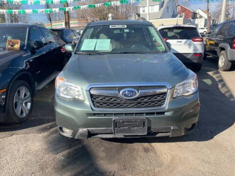 2014 Subaru Forester for sale at Park Avenue Auto Lot Inc in Linden NJ