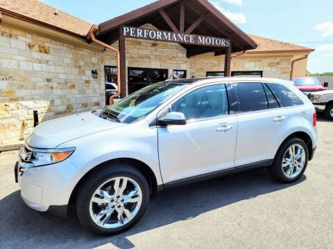 2014 Ford Edge for sale at Performance Motors Killeen Second Chance in Killeen TX