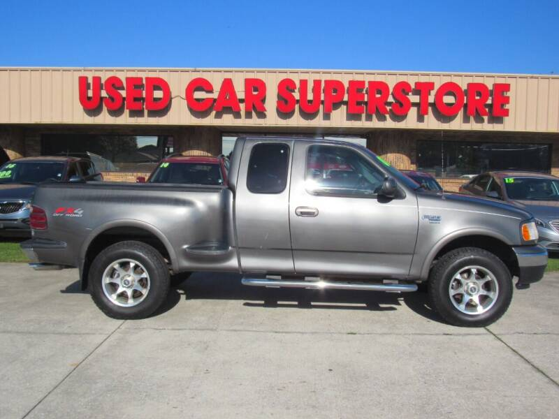 2002 Ford F-150 for sale at Checkered Flag Auto Sales NORTH in Lakeland FL