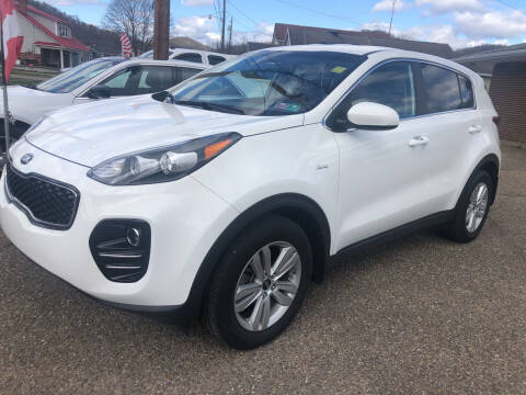 2018 Kia Sportage for sale at MYERS PRE OWNED AUTOS & POWERSPORTS in Paden City WV