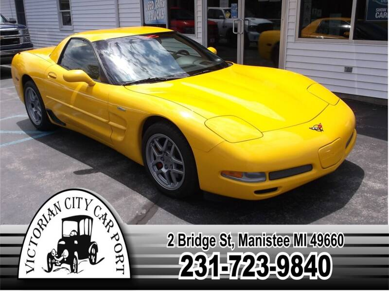 2002 Chevrolet Corvette for sale at Victorian City Car Port INC in Manistee MI
