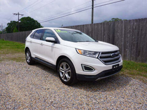 2015 Ford Edge for sale at BLUE RIBBON MOTORS in Baton Rouge LA