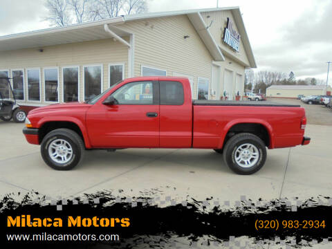 2002 Dodge Dakota for sale at Milaca Motors in Milaca MN