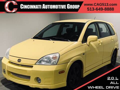 2003 Suzuki Aerio for sale at Cincinnati Automotive Group in Lebanon OH