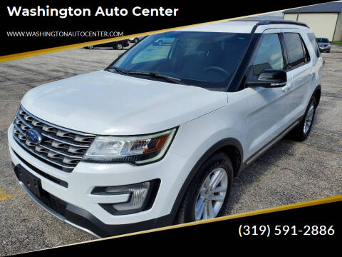 2017 Ford Explorer for sale at Washington Auto Center in Washington IA