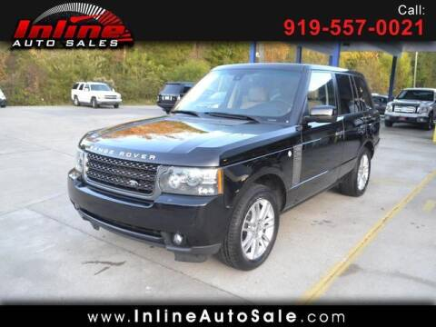 2011 Land Rover Range Rover for sale at Inline Auto Sales in Fuquay Varina NC