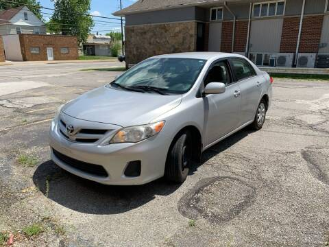 2011 Toyota Corolla for sale at USA AUTO WHOLESALE LLC in Cleveland OH