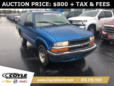 2000 Chevrolet Blazer for sale at COYLE GM - COYLE NISSAN in Clarksville IN