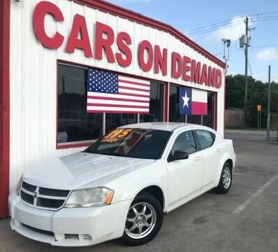 2010 Dodge Avenger for sale at Cars On Demand in Pasadena TX