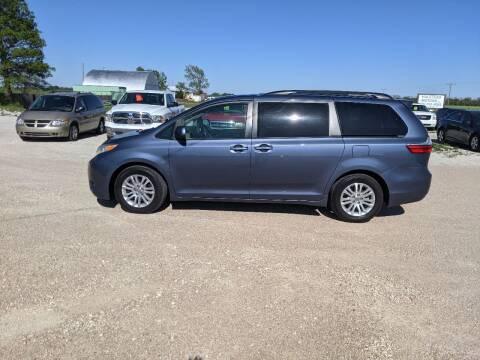 2015 Toyota Sienna for sale at Halstead Motors LLC in Halstead KS